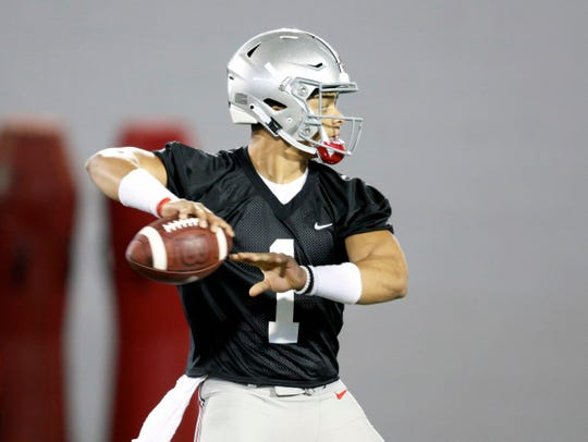 Justin Fields transferred from Georgia to Ohio State and was granted immediate eligibility.