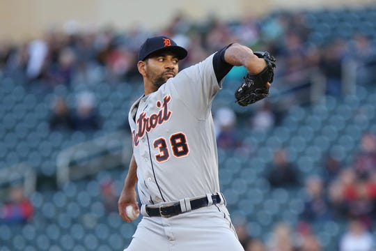 The Tigers on Sunday placed Tyson Ross on the injured list with ulnar neuritis in his right elbow. Four of the Tigers' original starting five are now on the IL — including Michael Fulmer and Matt Moore, who are out for the season.