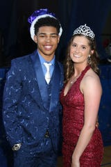 """Charles""""Boo""""Chapman was crowned King and Rilee Overmyer was crowned Queen. Ross' 2019 prom was held May 11th at the high school."""