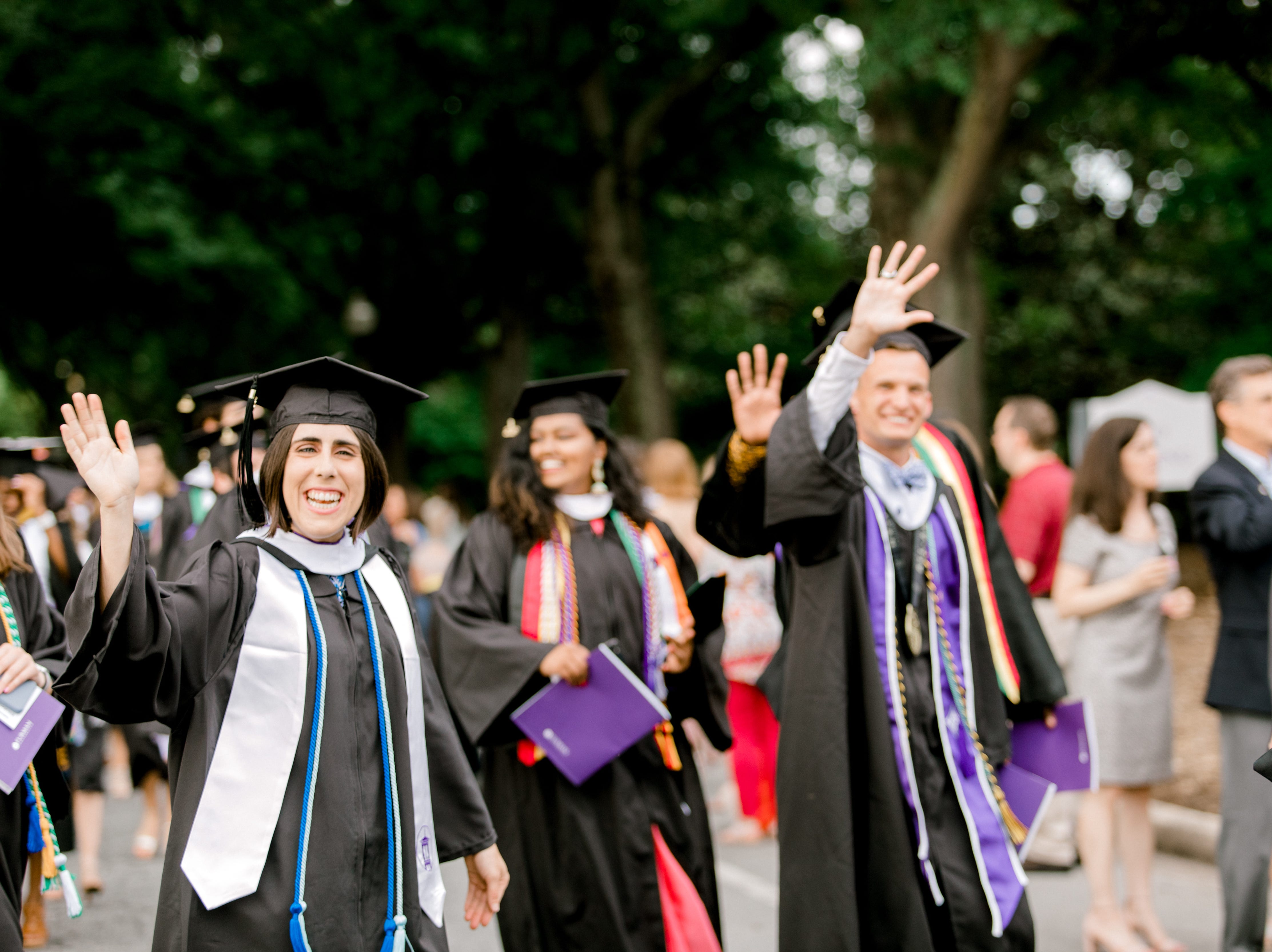 Furman University held commencement ceremonies at Timmons Arena in Greenville on Saturday, May 11, 2019.