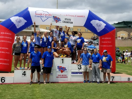 The Travelers Rest girls won the Class AAAA track and field championship behind the strength of their field events.