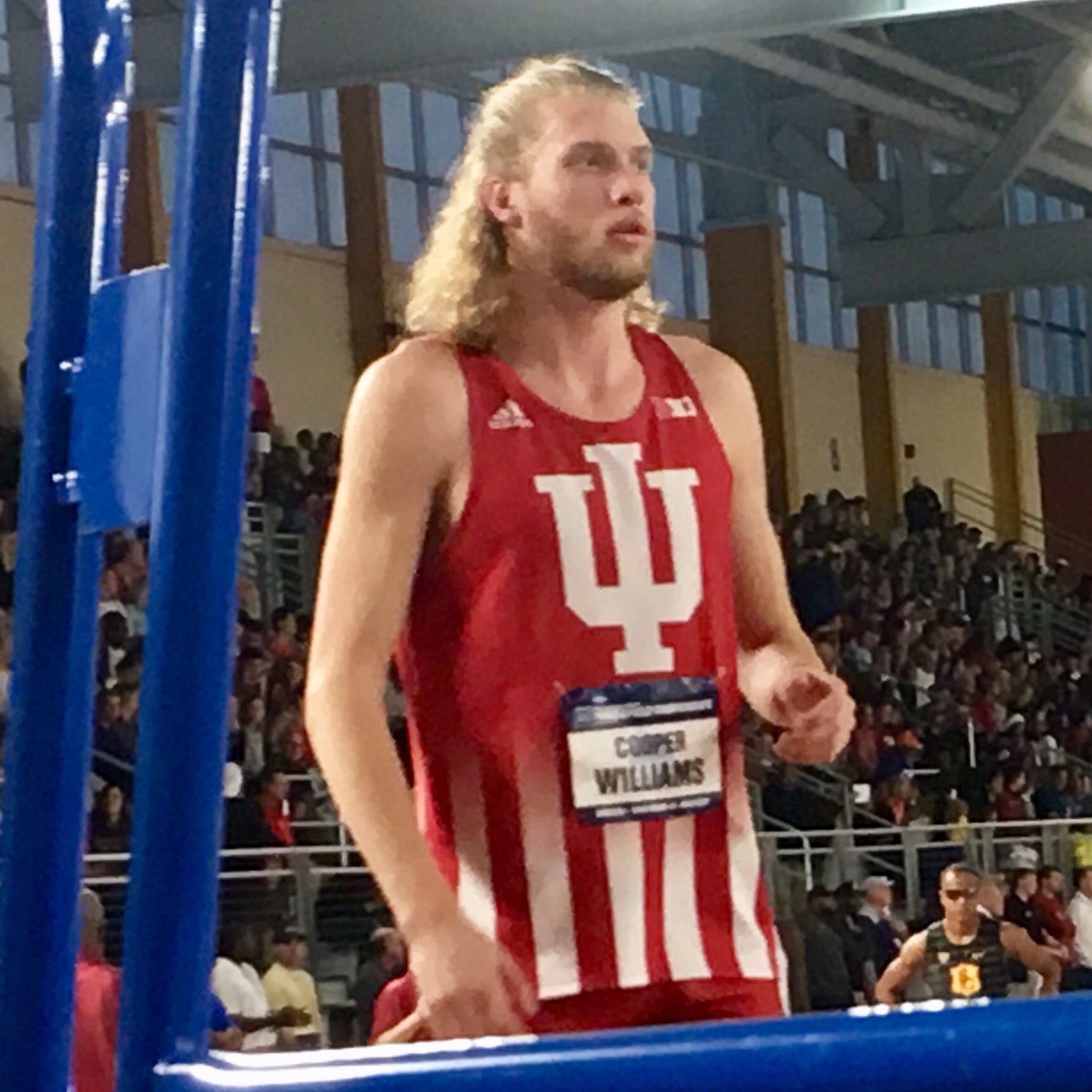 IU's Cooper Williams won the 800 meters at Sunday's Big Ten track and field championships.
