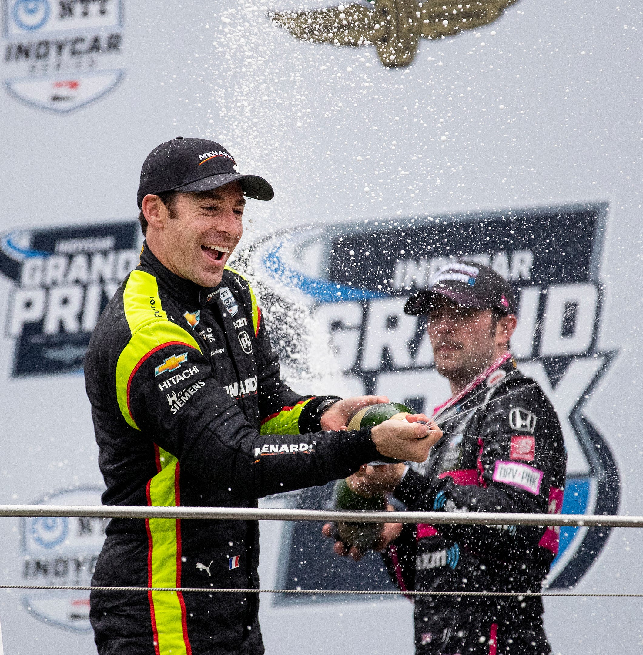 Insider: Simon Pagenaud delivers defiant, thrilling win in rain at IndyCar Grand Prix