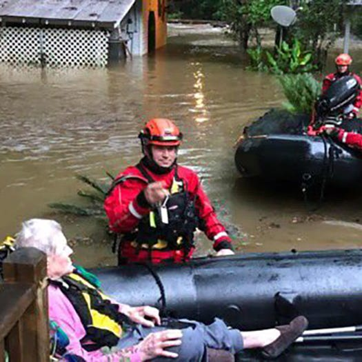Rescues, road closures: Flooding continues in Mississippi