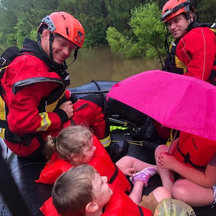 Family of 8, including newborn twins, rescued. Here's the latest on flooding.