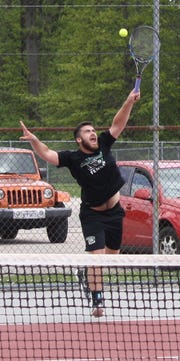Clear Fork's Noah Brown lost a tough three-setter to St. Peter's Luke Henrich in the sectional finals, but is headed back to districts for the second time in three years.
