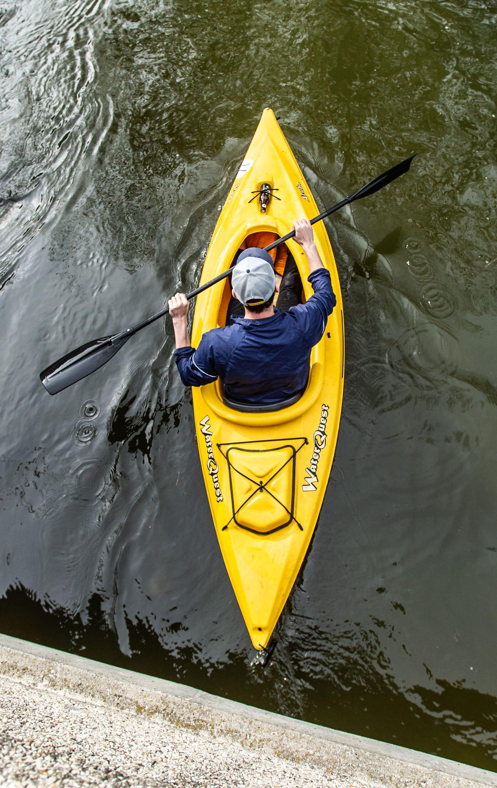 46th annual Pewaukee Kiwanis RiverRun canoe & kayak race
