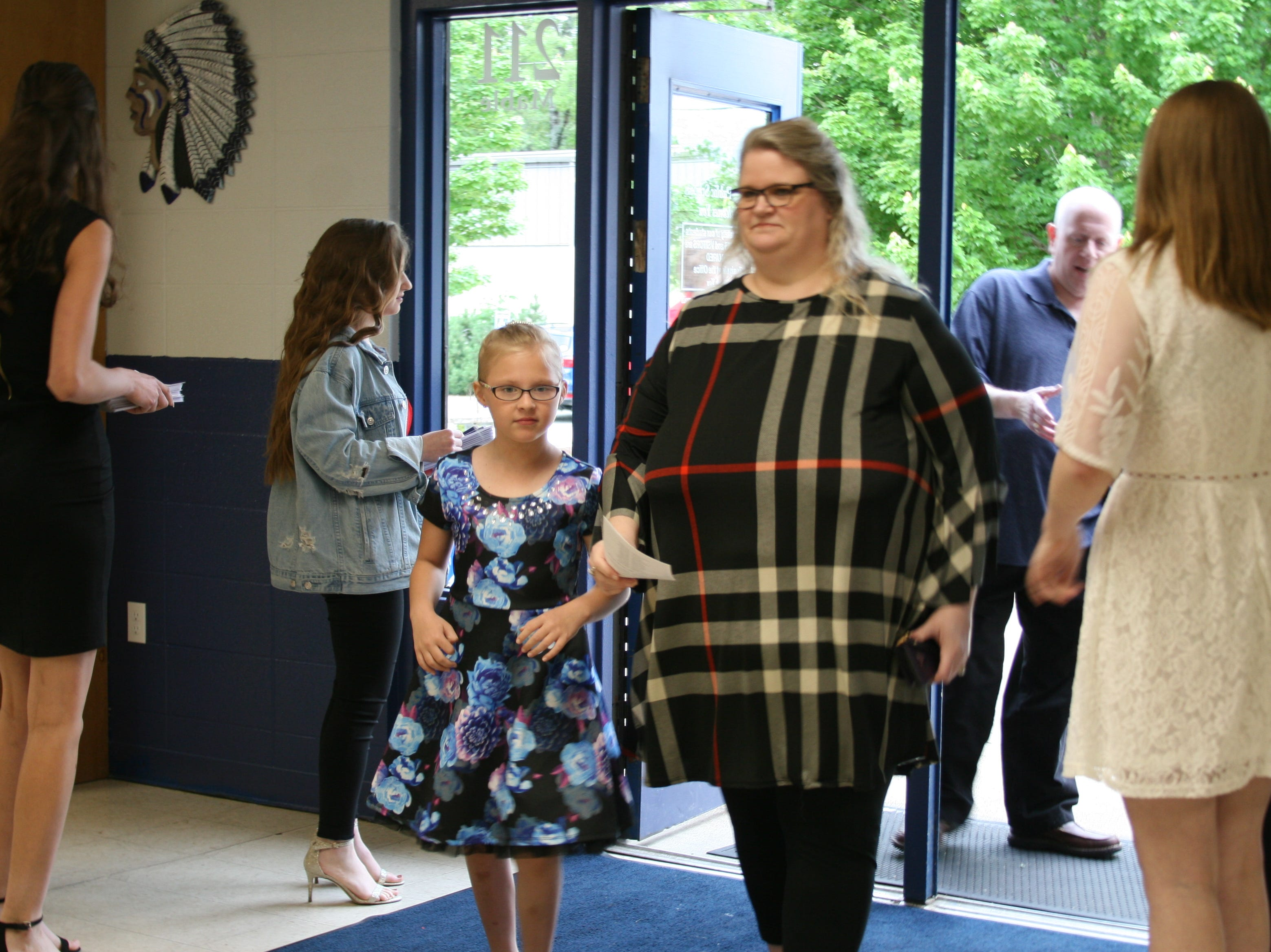 Hundreds of anxious parents, guests and members of the public streamed in Saturday night to Cotter High School's gymnasium for the Class of 2019's graduation ceremonies.