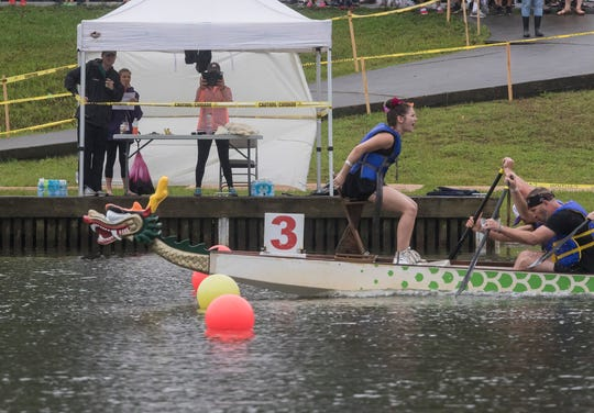 The Children's Coalition of Northeast Louisiana held its annual dragon boat races on Bayou DeSiard in Monroe, La. on May 11. This year's championship went to the Knight Riders.