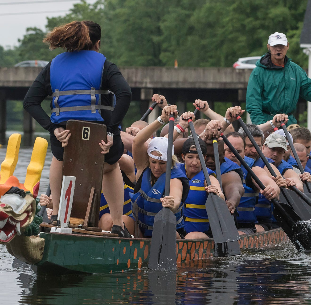 Dragons Streaked the Bayou during Boat Races