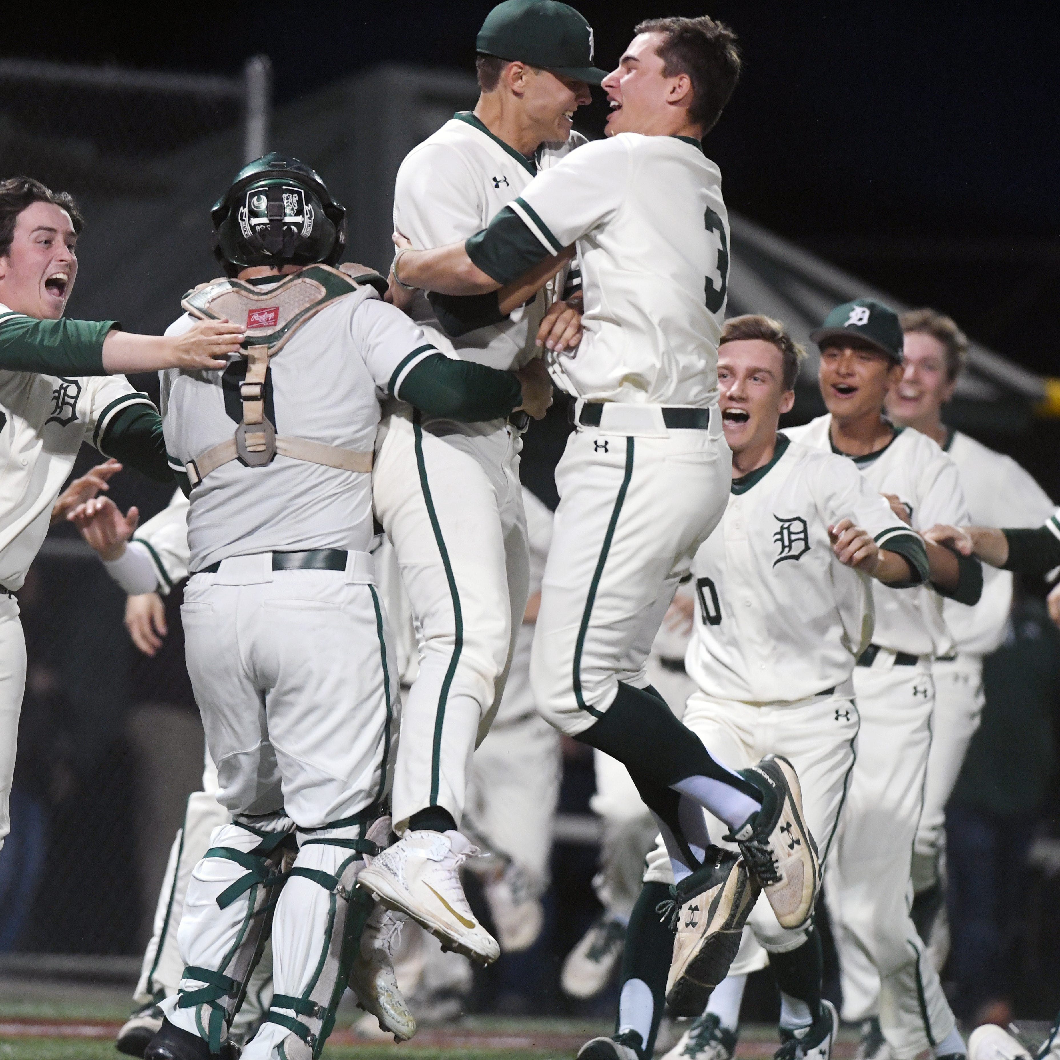Delbarton's Morris County Tournament baseball title almost perfect