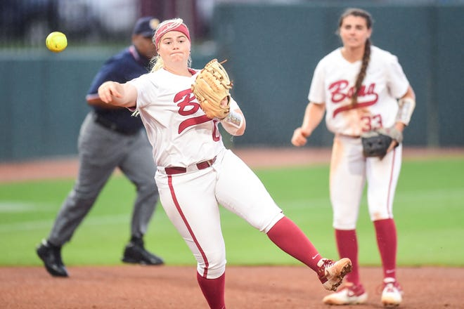 Alabama infielder Maddie Morgan