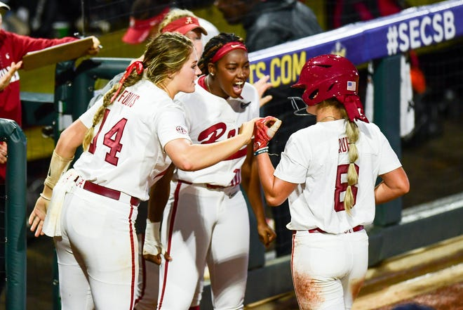 05/11/2019 2019 SEC Softball Tournament. Championship Game. Alabama v Florida. Photo by Joshua R. Gateley