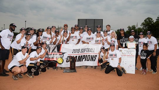 Alabama State is in the NCAA Softball Tournament.
