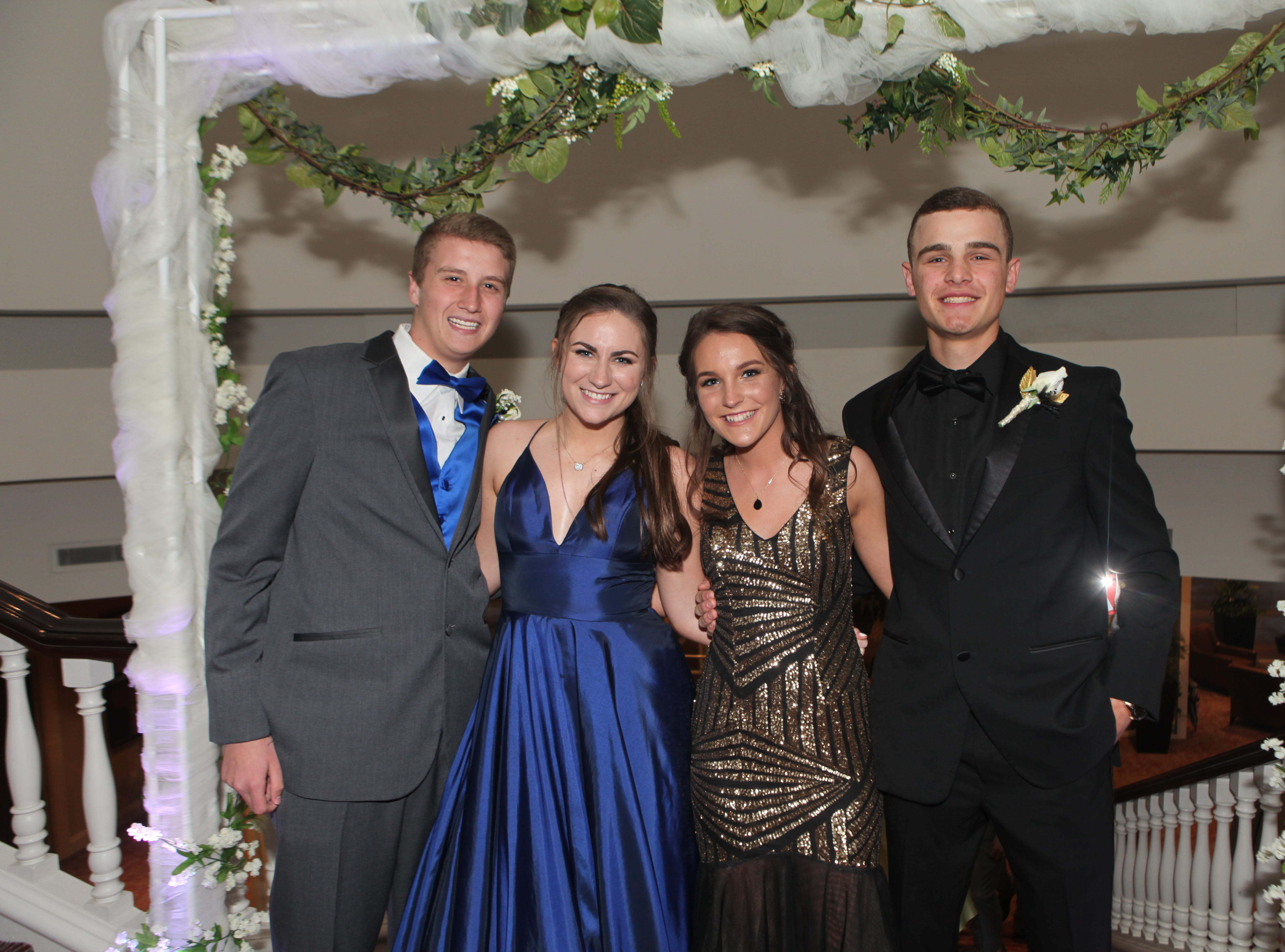 Sycamore High School's Prom was held Saturday, May 11, 2019 at Gaylord Springs Golf Links Clubhouse.