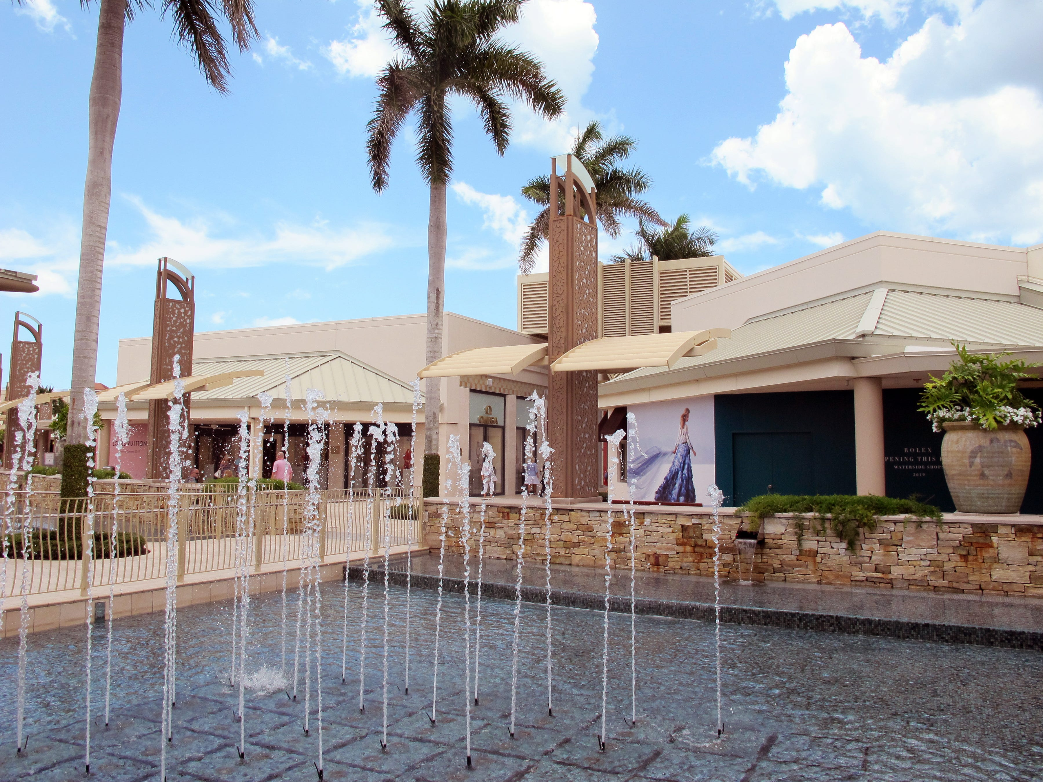 Many luxury brands are planning to launch new stores this year at Waterside Shops in Naples.
