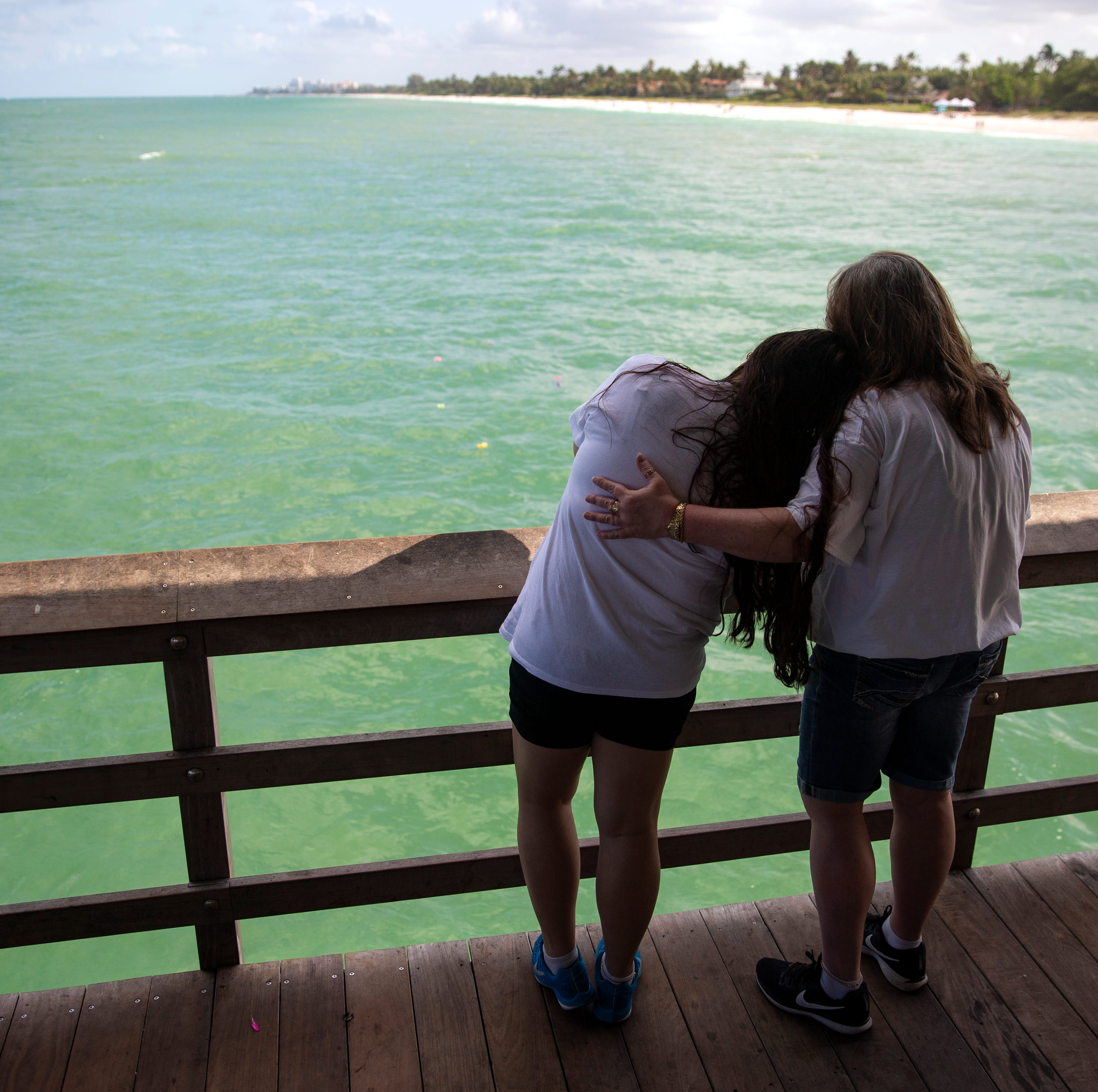 Mother's Day a heartbreaking remembrance for a few at Naples Pier
