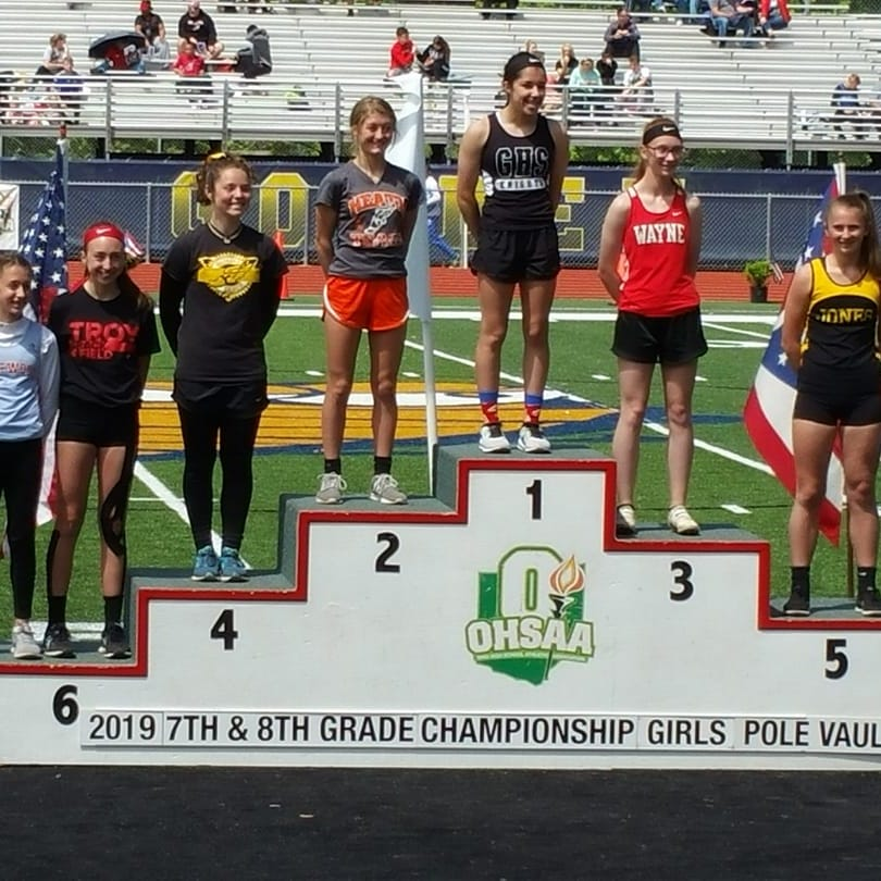 Heath's Dunlap, Watkins' Harvey reach podium at state track meet