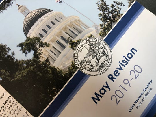 Gov. Gavin Newsom released his revised budget proposal, May 9, 2019, with a focus on education, health care and fighting homelessness.