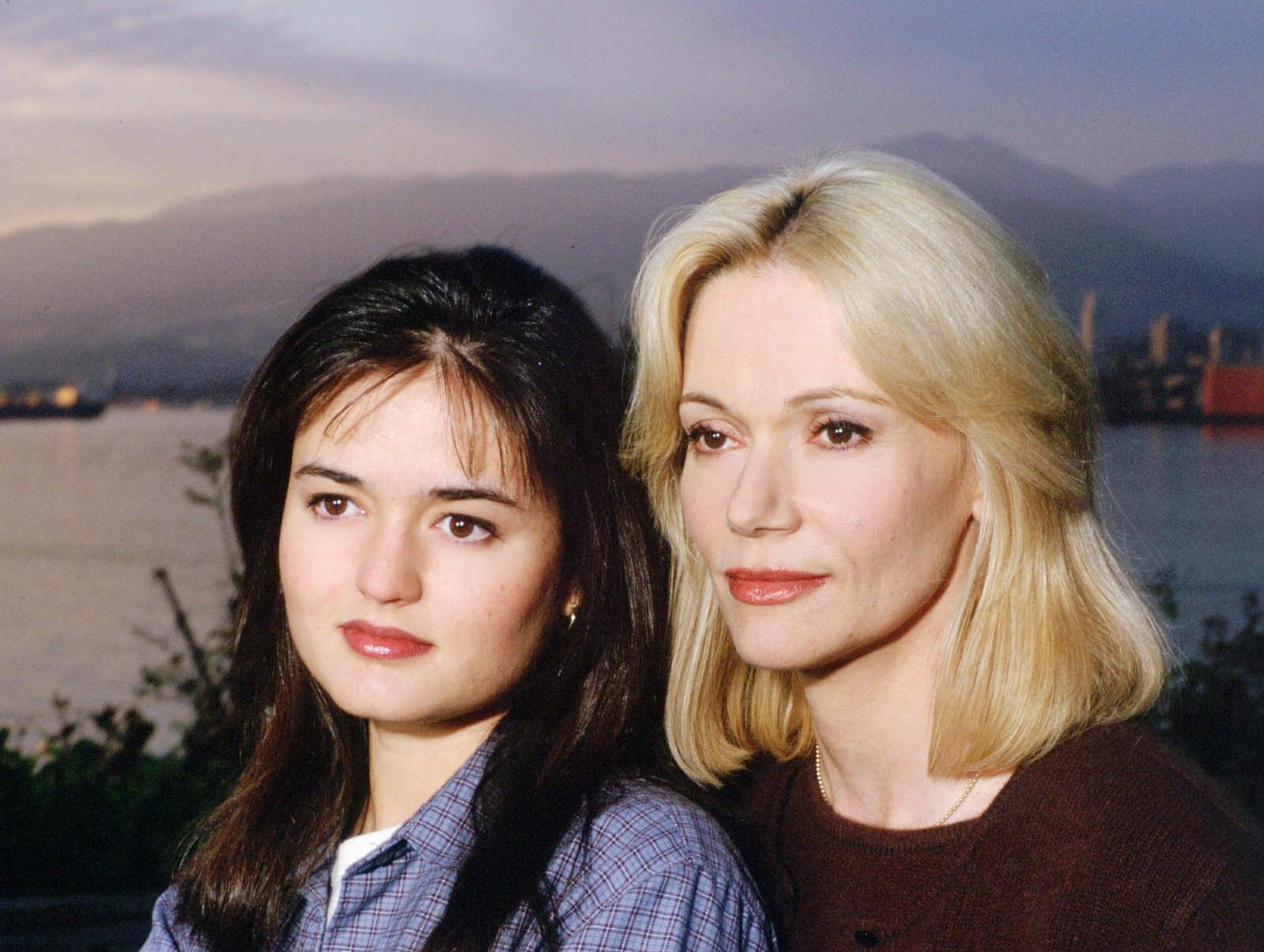 "Peggy Lipton (right) and Danica McKellar star in the 1995 TV movie ""Justice for Annie."""
