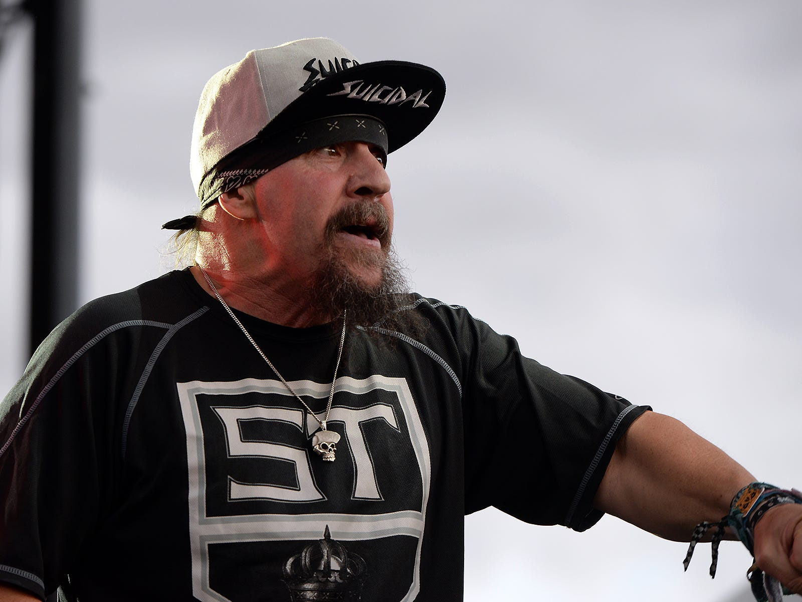 Suicidal Tendencies perform at Bash Festival in Phoenix, Ariz., on May 11, 2019.