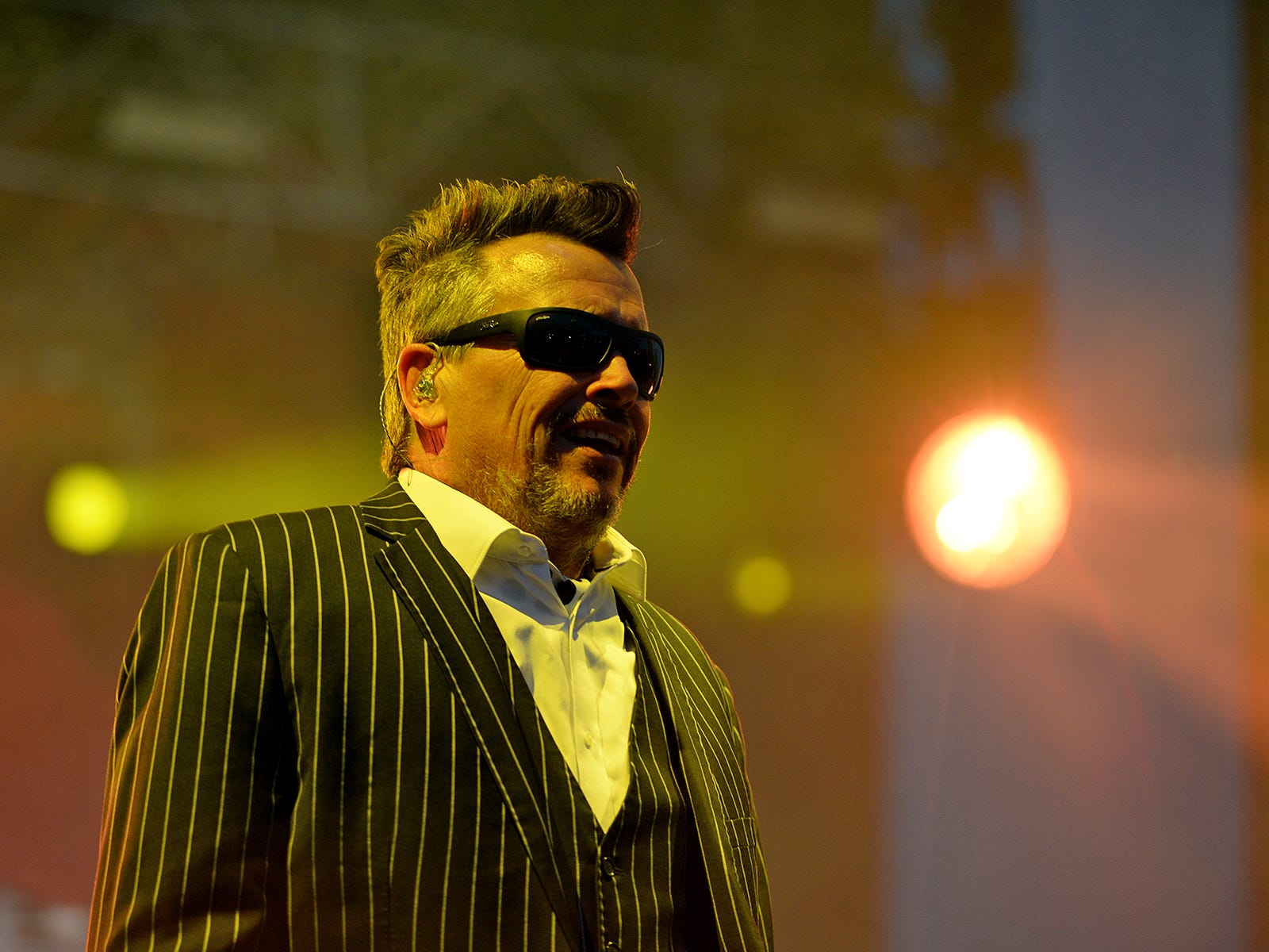 The Mighty Mighty Bosstones perform at Bash Festival in Phoenix, Ariz., on May 11, 2019.