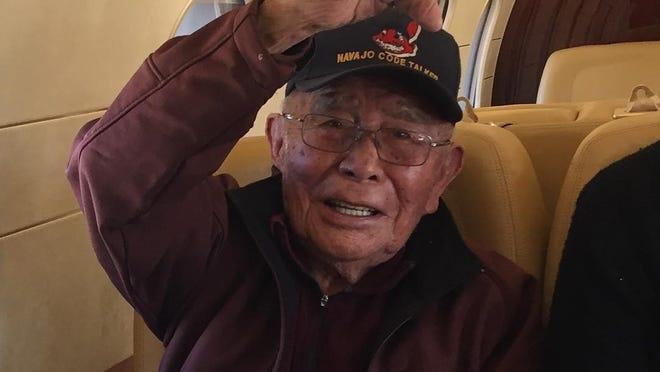 Navajo Code Talker Fleming Begaye Sr  dies at 97
