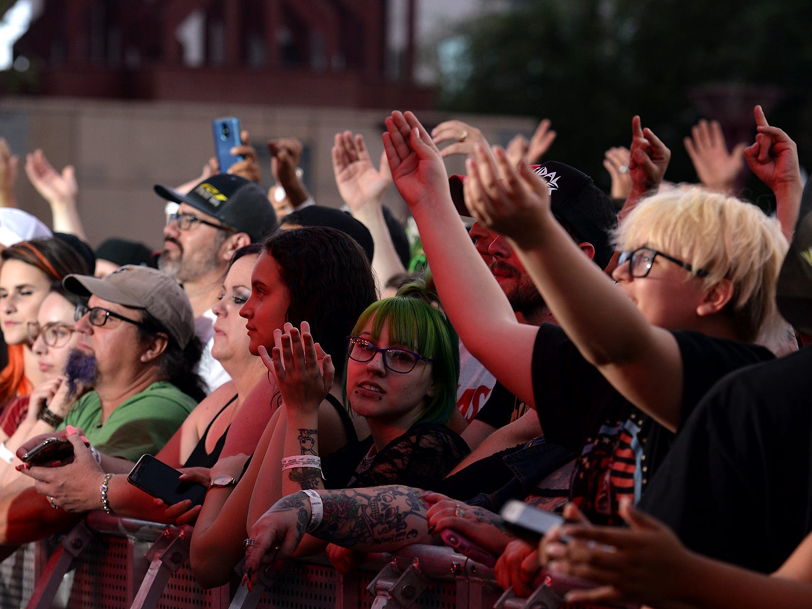 Fans at Bash Festival in Phoenix, Ariz., on May 11, 2019.