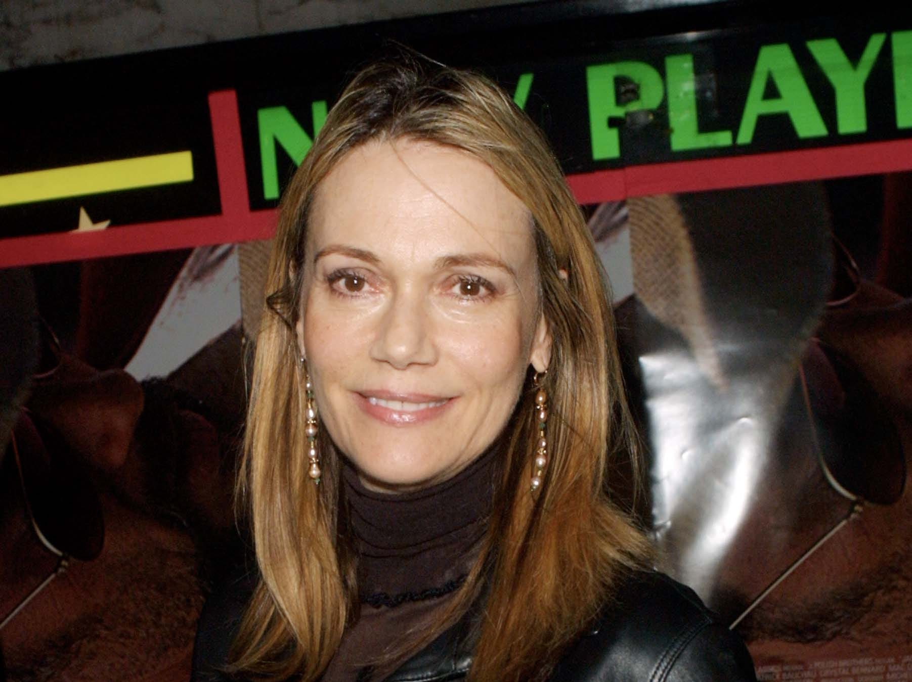 "Peggy Lipton arrives for the film premiere of ""Jackpot"" on  July 25, 2001, in Los Angeles"