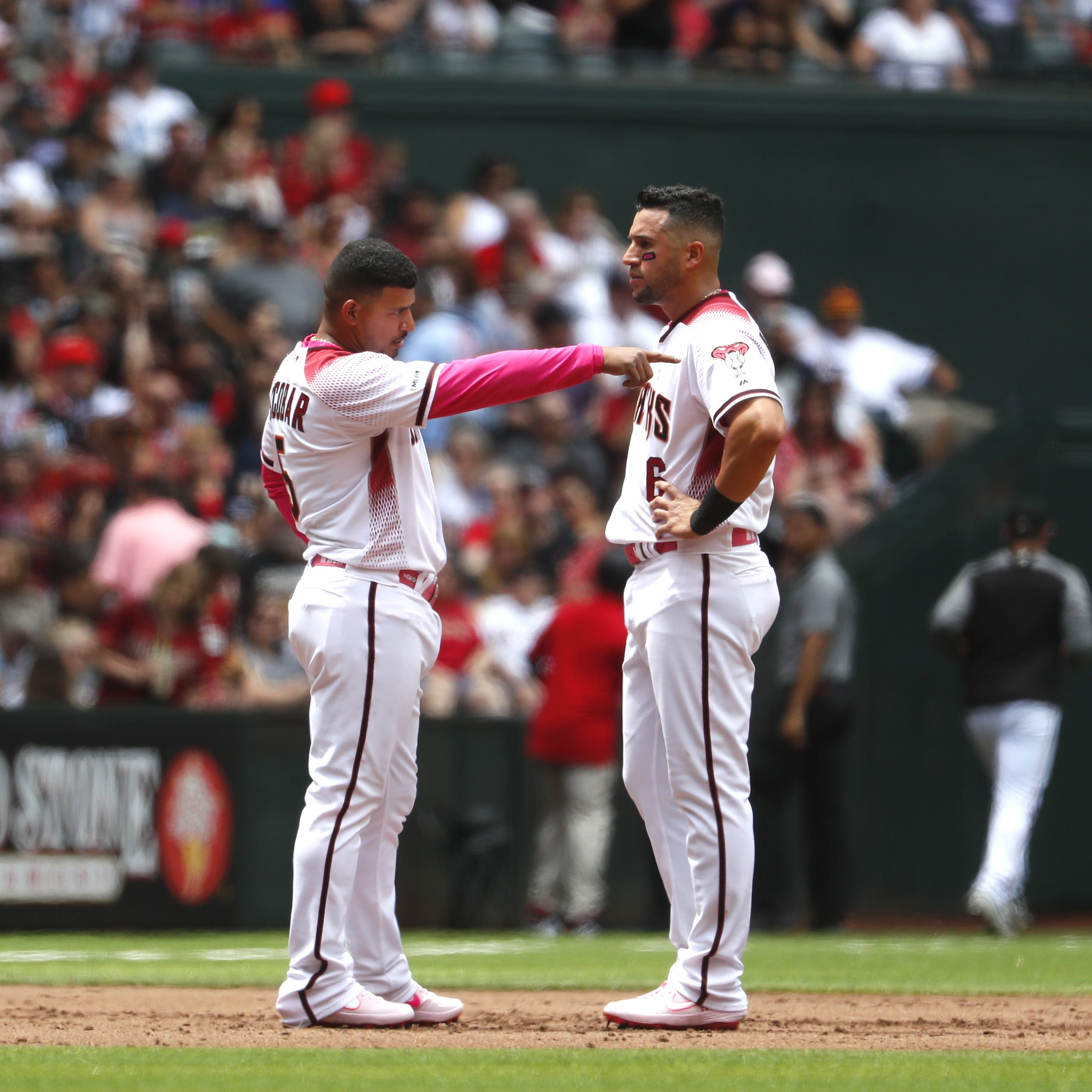 'All we need is that hit': Diamondbacks' lack of run production against Braves has pros, cons