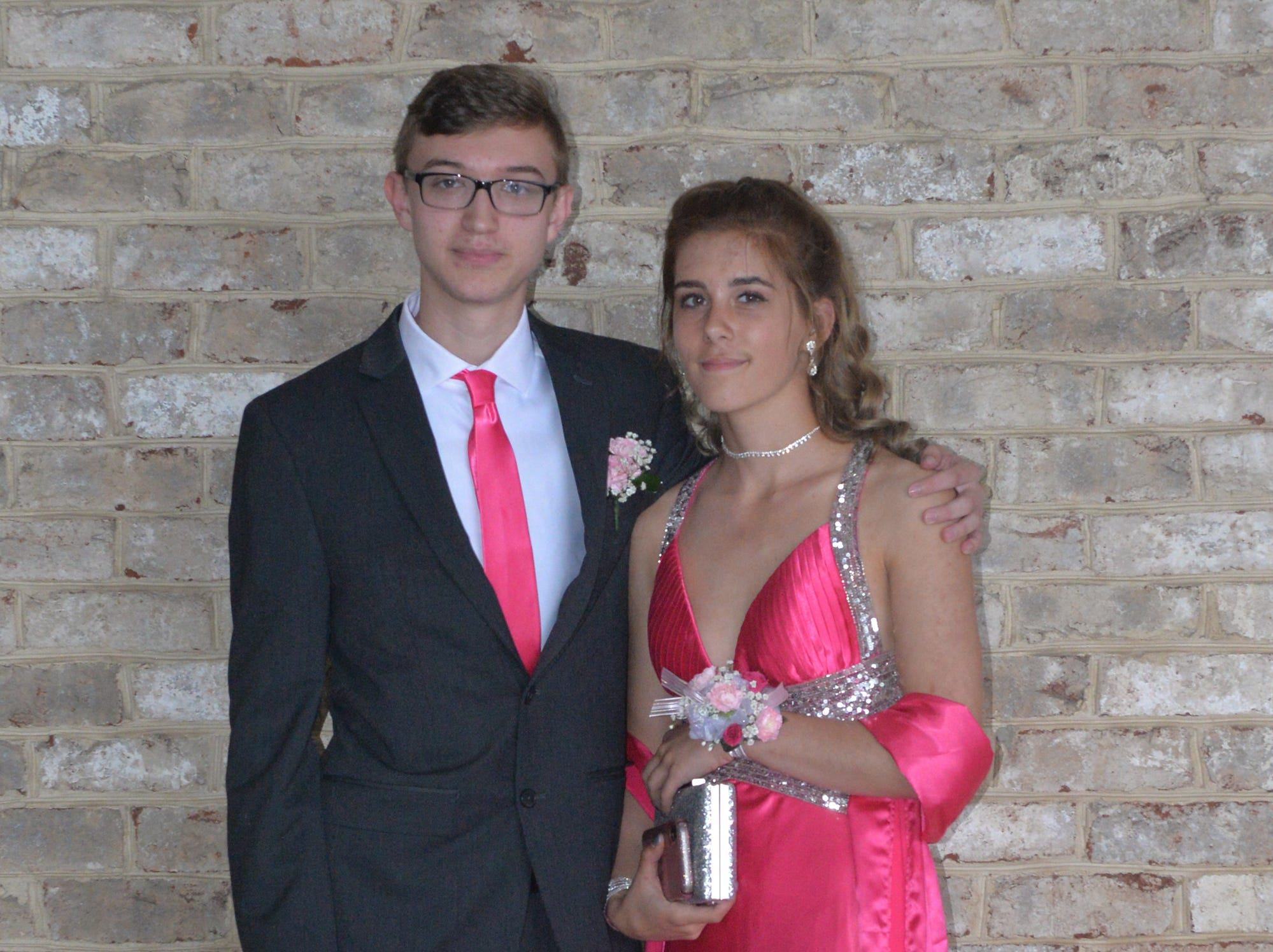 Palmyra students and guests arrive at the Hershey Lodge Saturday, May 11, 2019 for the school's annual prom.