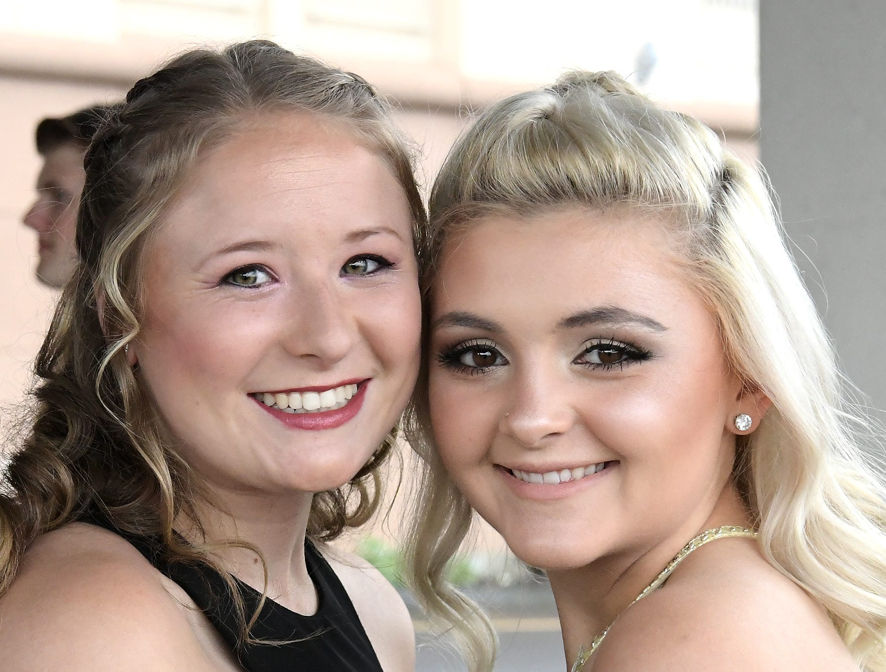 Students arrive at the Red Land High School Prom at Red Lion Hotel in Harrisburg Saturday, May 11, 2019. Bill Kalina photo