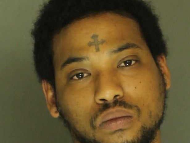 Khalil Bland, arrested for simple assault.