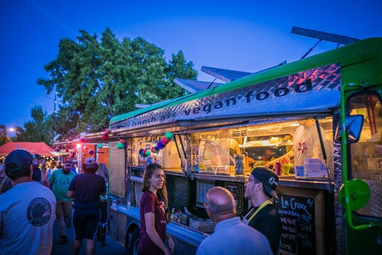 Food Truck Friday runs 4 to 9 p.m. Fridays, May 17 through Sept. 27, in Idlewild Park in Reno.