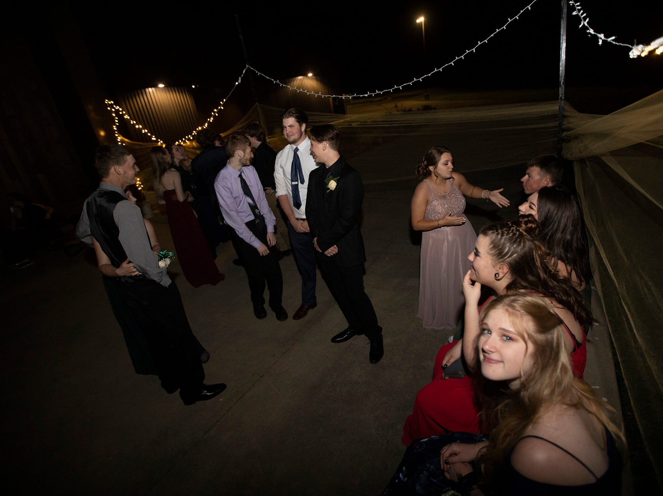 Dallas High School held their prom at the Dallas Armory on Saturday, May 12.