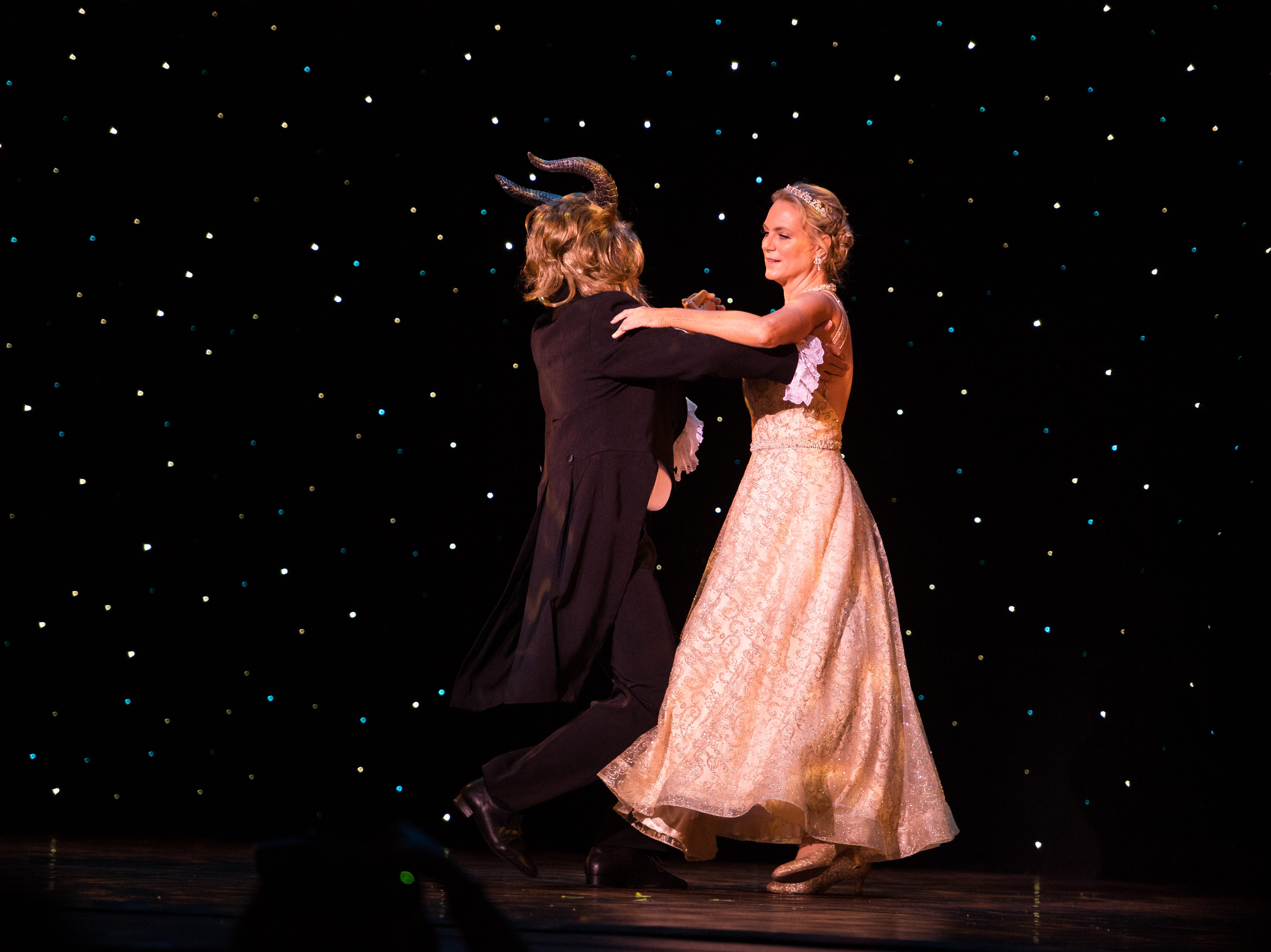 Top fundraisers Martha Redner and Dr. Glenn Tremml perform at the 11th annual Dancing with Vero's Stars on Saturday, May 11, 2019, at Riverside Theatre in Vero Beach. Ten couples competed for a mirror ball trophy during the event, which raised funds for Indian River County Healthy Start Coalition.