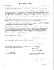 The Complaint Affidavit in the arrest of Arlene Leeann Pina.