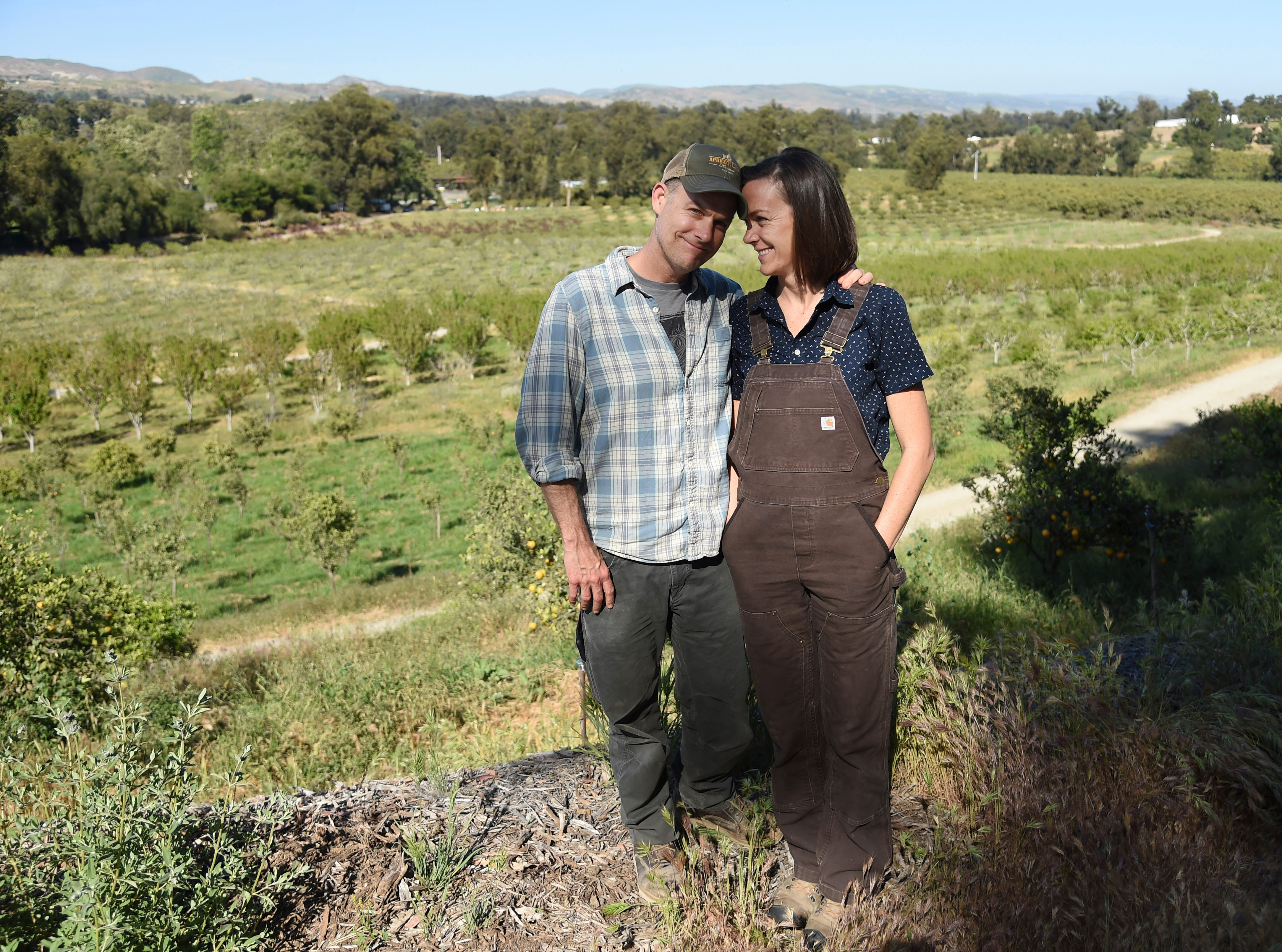"John and Molly Chester, of Moorpark, chronicle the joy and hardship of Apricot Lane Farms in the documentary film ""The Biggest Little Farm."""
