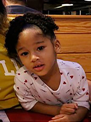This undated photo released by the Houston Police Department shows Maleah Davis. Houston police are trying to determine what happened to the 4-year-old girl after her stepfather said she was taken by men who released him and his 2-year-old son after abducting them as well.