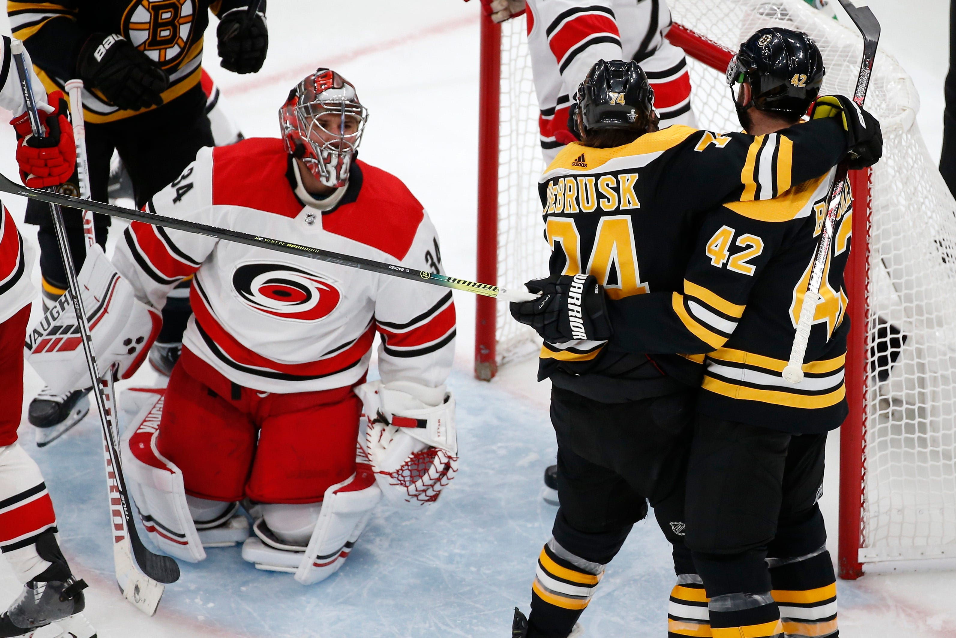 Bruins rout Hurricanes, prove they're on a different level through two games of Eastern Conference Final