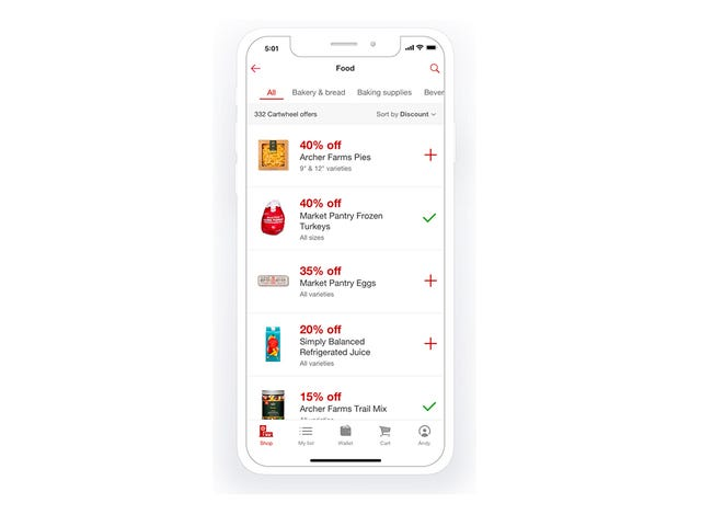 Target Cartwheel: How to save time and money using the Target app