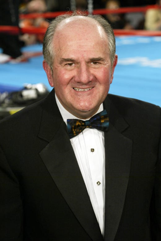 Harold Lederman, boxing, 1940-2019