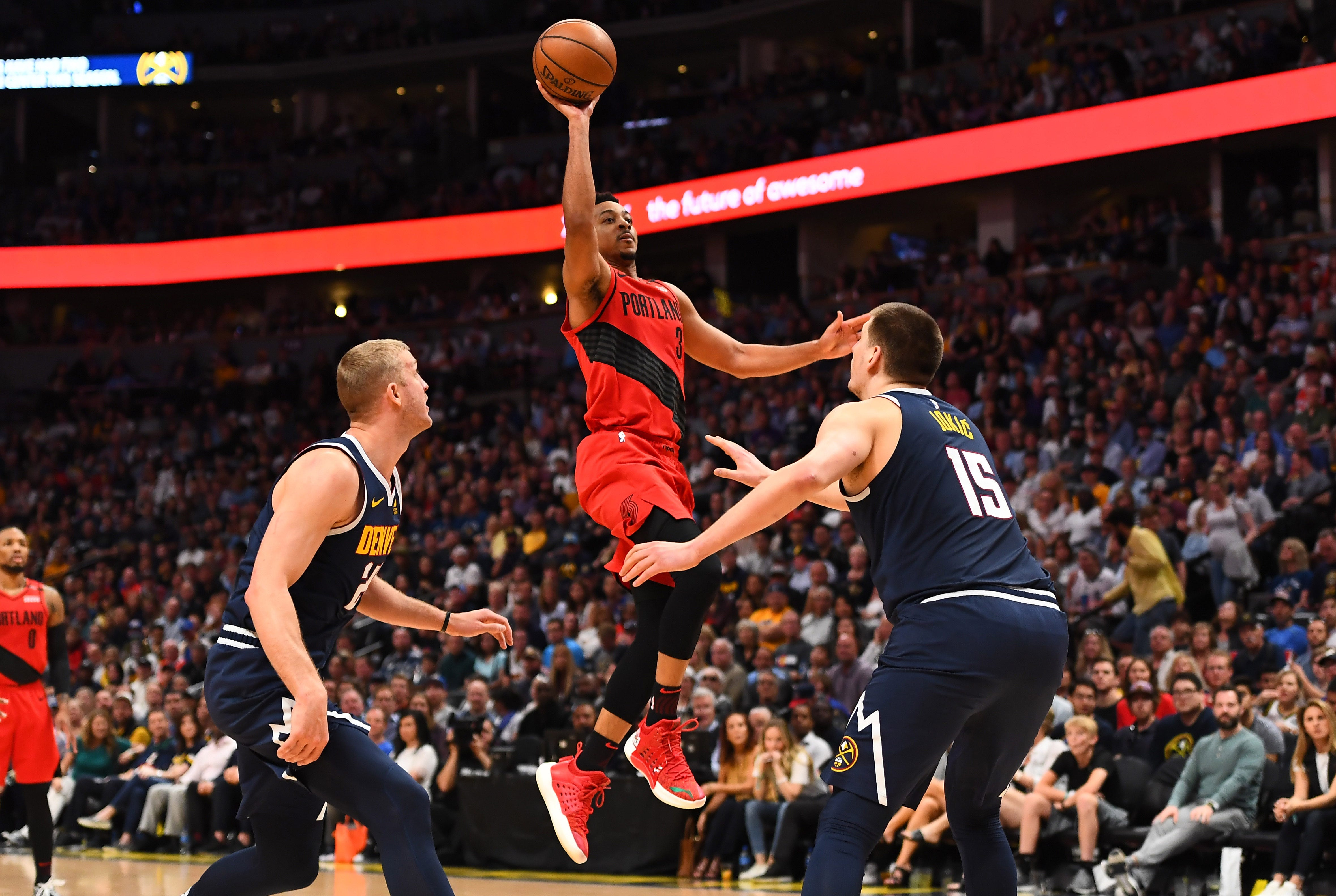 C.J. McCollum rallies Blazers past Nuggets in Game 7 for spot in West finals