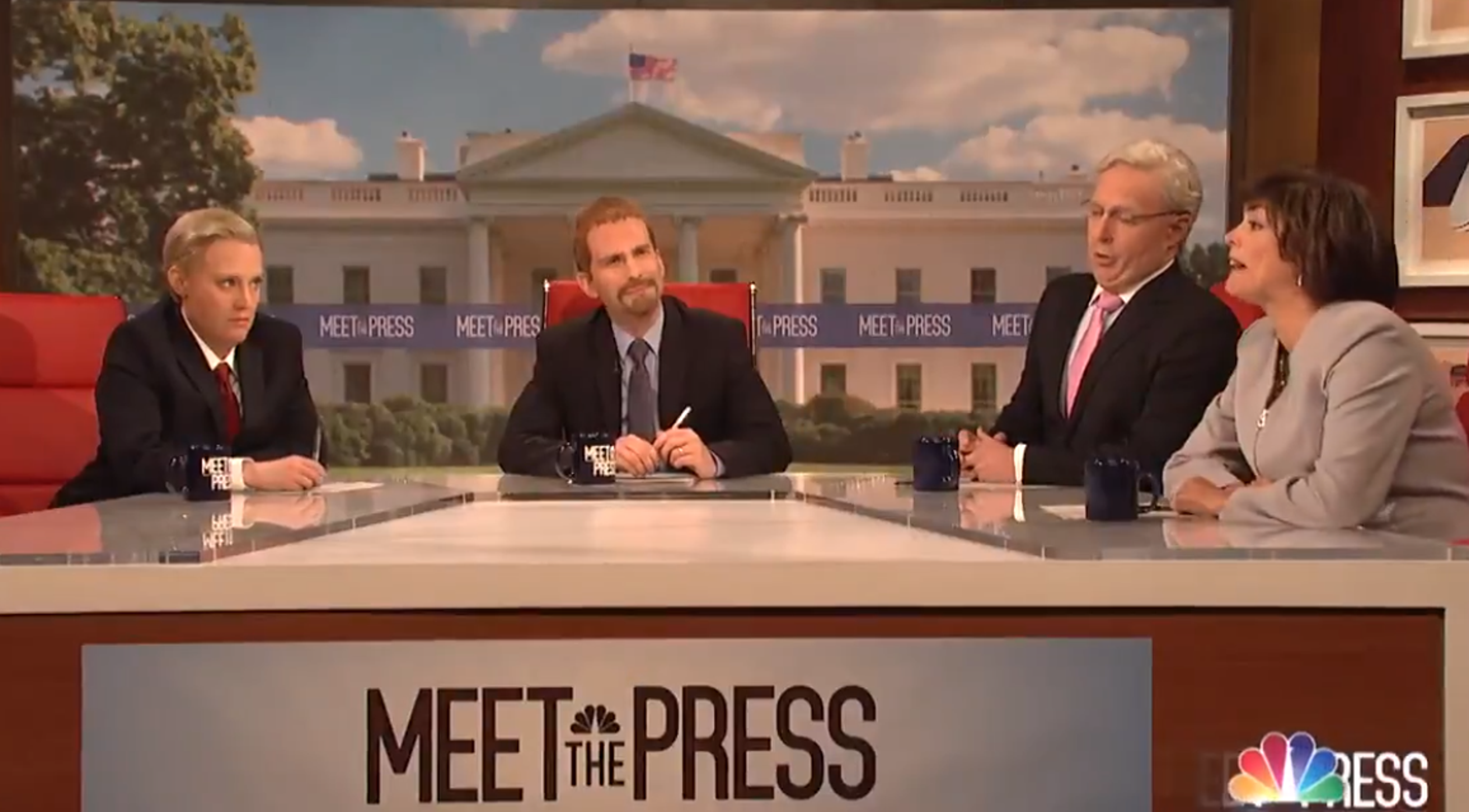 'SNL' cold open shows frightened GOP leaders refusing to drop their support of Trump
