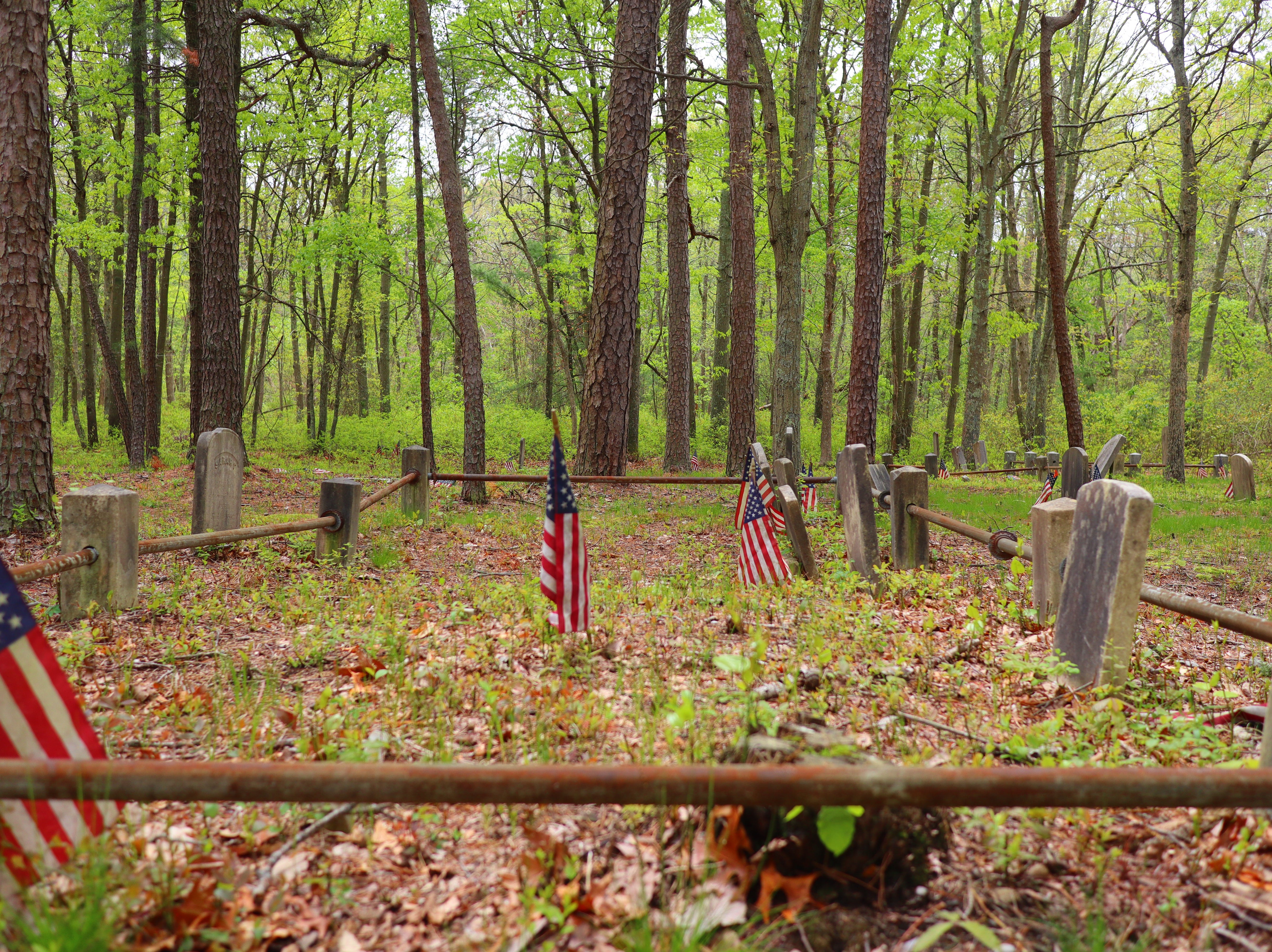 The Pine Brook Cemetery in Tinton Falls is the resting place for Native Americans dating back to the 19th century.