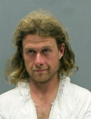 This Saturday, May 11, 2019 booking photo provided by the Washington County, Virginia, Sheriff's Office shows James L. Jordan, of West Yarmouth, Mass. Federal authorities say Jordan was arrested in an attack on the Appalachian Trail that left one person dead and another severely injured. He was arrested early Saturday and charged with murder and assault. (Washington County, Virginia, Sheriff's Office)