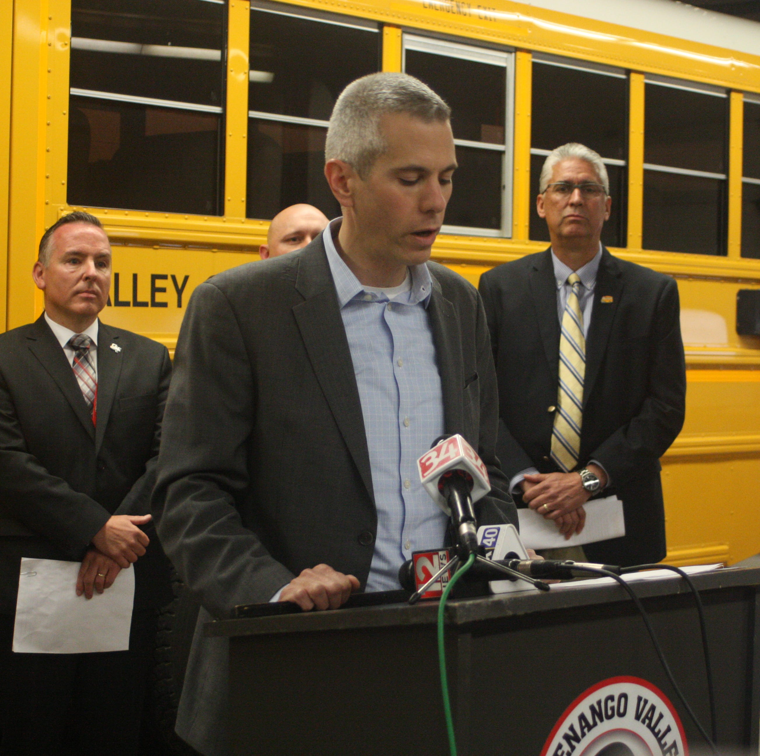 Norwich bus video: Brindisi co-sponsors bill to stop illegal passing of school buses