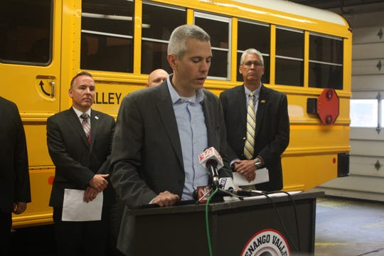 Congressman Anthony Brindisi is the co-sponsor of a new bill that would prevent the illegal passing of buses.