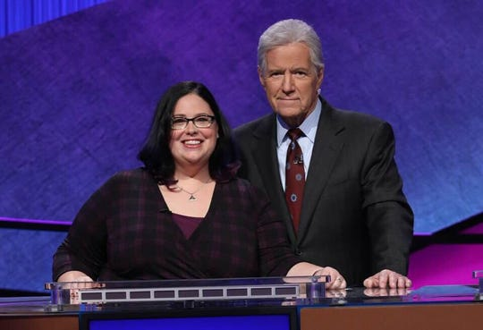 Binghamton native Sara DelVillano will be on the Jeopardy! Teacher Tournament semifinals Monday night.