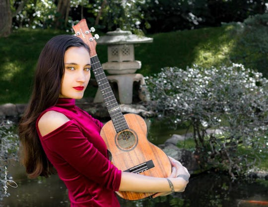 """Taimane Gardner was """"discovered"""" by one Hawaii music icon, Don Ho, and studied under another, Jake Shimabukuro."""